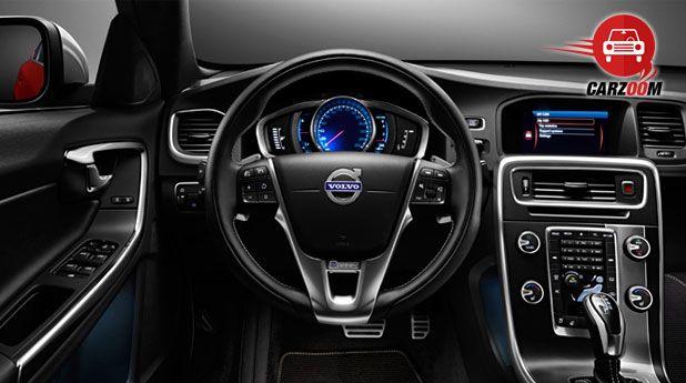 Volvo S60 Interiors Dashboard