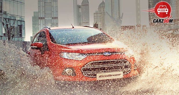 Ford Offers Optional Daytime-Running Lights in EcoSport