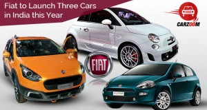Fiat to Launch Three Cars in India this Year