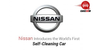 Nissan Introduces the World's First Self-Cleaning Car