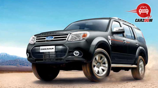 2014 Ford Endeavour Exteriors Side View