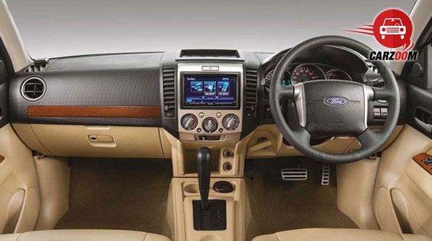2014 Ford Endeavour Interiors Dashboard