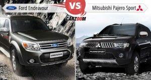 2014 Ford Endeavour Vs Mitsubishi Pajero Sport