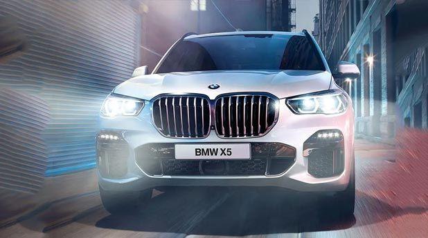 BMW-X5-Front-Voew