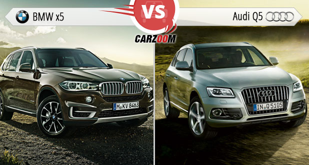 BMW X Vs Audi Q Photos Images Pictures HD Wallpapers Carzoomin - Bmw x5 vs audi q5