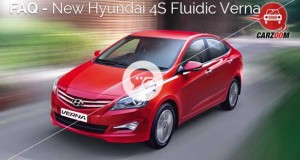FAQ-New Hyundai 4S Fluidic Verna