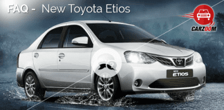 FAQ New Toyota Etios