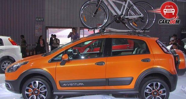 Fiat Avventura Exteriors Side View