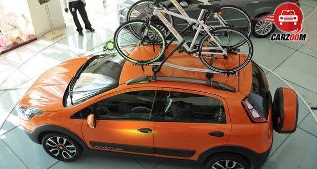Fiat Avventura Exteriors Top View