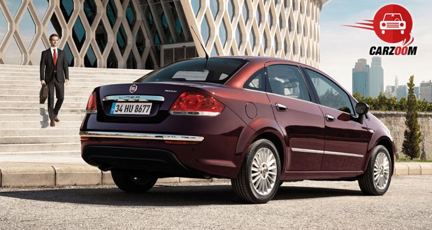 Fiat Linea Exteriors Rear View