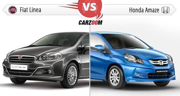 Fiat Linea Vs Honda Amaze