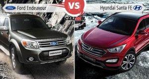 Ford Endeavour Vs Hyundai Santa FE