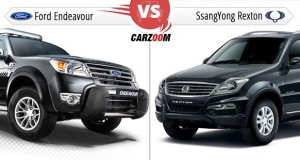 Ford Endeavour Vs SsangYong Rexton
