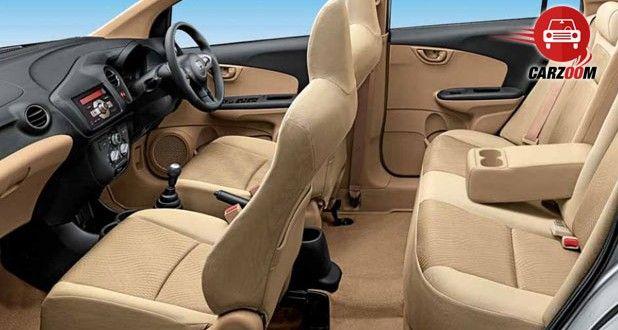 Honda Amaze Interiors Seats