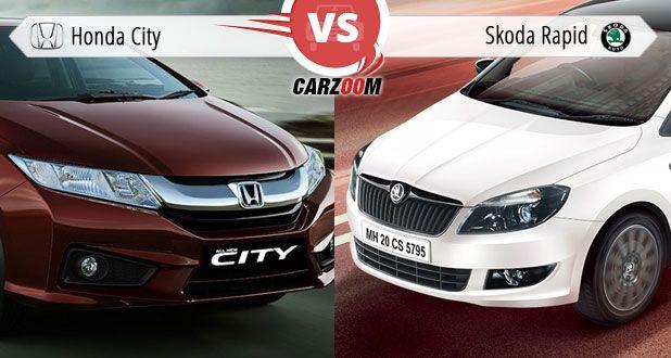 Honda City vs Skoda Rapid