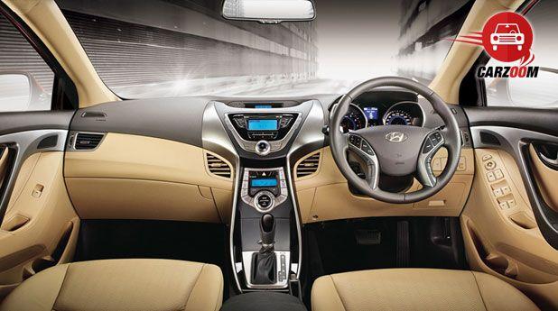 Hyundai Elantra Interiors Dashboard