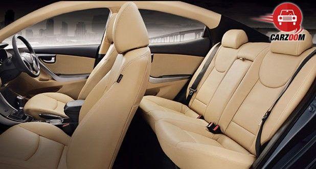 Hyundai Elantra Interiors Seats