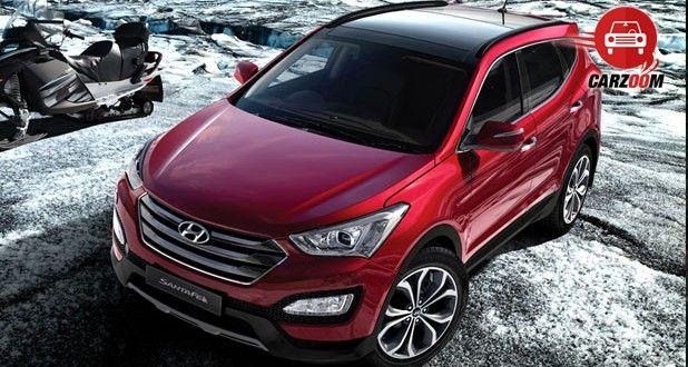 Hyundai Santa FE Exteriors Side View