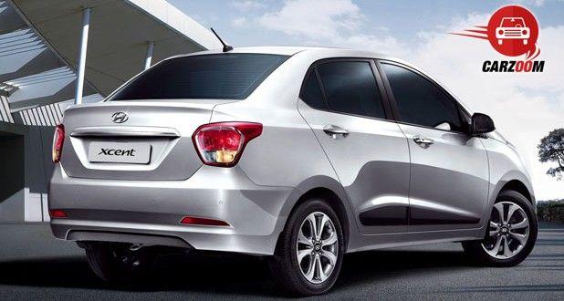 Hyundai Xcent Exteriors Rear View