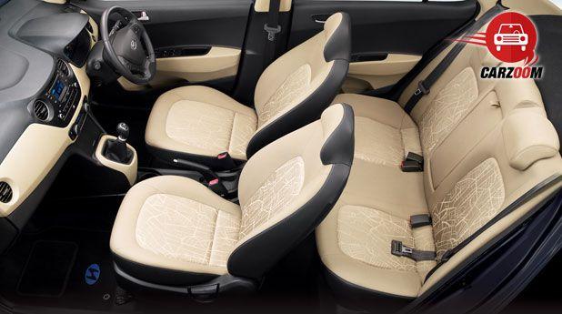 Hyundai Xcent Interiors Seats