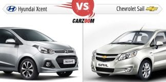 Hyundai Xcent Vs Chevrolet Sail