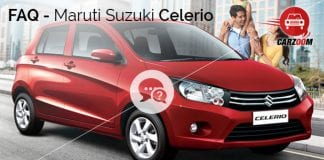 Maruti Suzuki Celerio FAQ