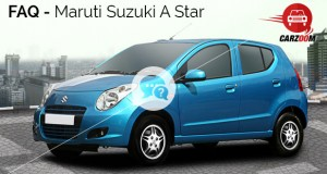 Maruti Suzuki A Star FAQ