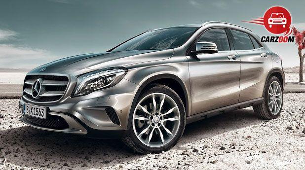 Mercedes-Benz GLA Exteriors Overall