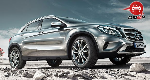 Mercedes-Benz GLA Exteriors Side View