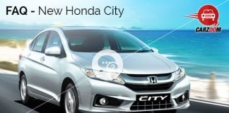 New Honda City FAQ