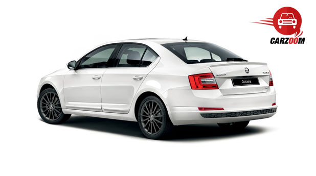 New Skoda Octavia Exteriors Rear View