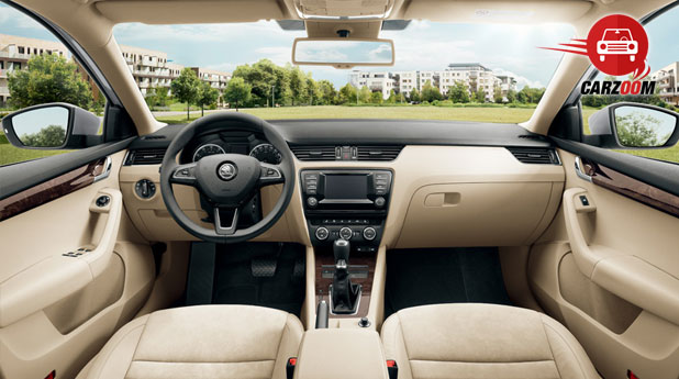 New Skoda Octavia Interiors Dashboard