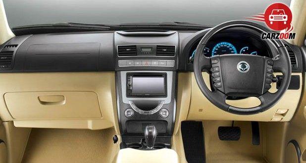 SsangYong Rexton Interiors Dashboard