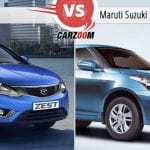 Tata Zest Vs Maruti Suzuki Swift DZire