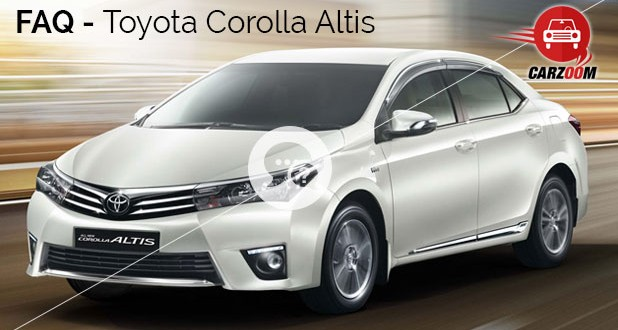 Toyota Corolla Altis FAQ