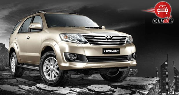 Toyota Fortuner Exteriors Front View