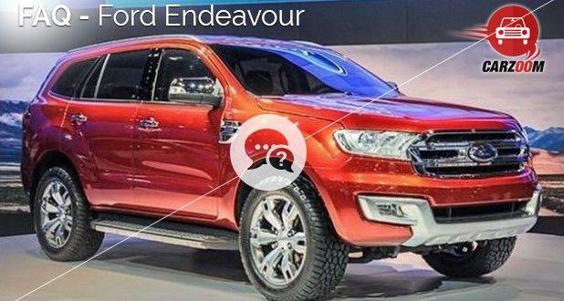 Ford Endeavour FAQ
