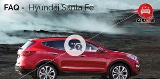 FAQ Hyundai Santa Fe