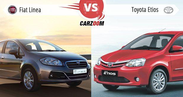 Fieat Linea vs Toyota Etios