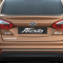 Ford Fiesta Facelift Exteriors Back View