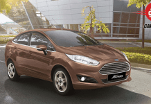 Ford Fiesta Facelift Exteriors Overall
