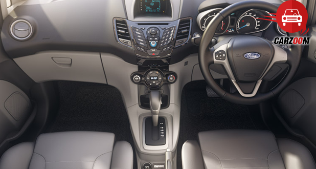 Ford Fiesta Facelift Interiors Dashboard
