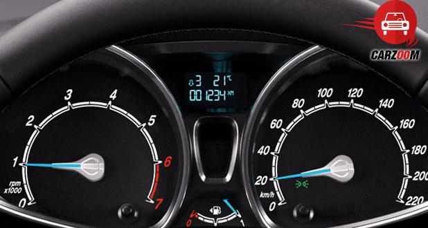 Ford Fiesta Stylish instrument Panel