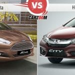 Ford Fiesta vs Honda City