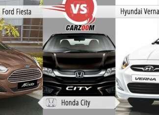 Ford Fiesta vs Honda City vs Hyndai Verna