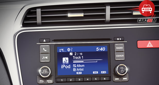Honda City Audio with 5 Screen