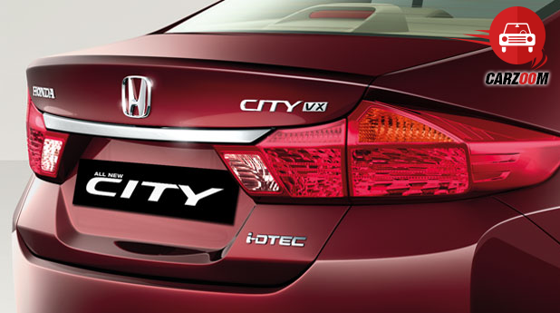 Honda City Rear License Chrome Garnish