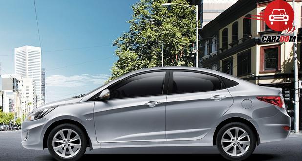 Hyundai Verna Exterio Side View