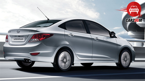 Hyundai Verna Exterior Rear View
