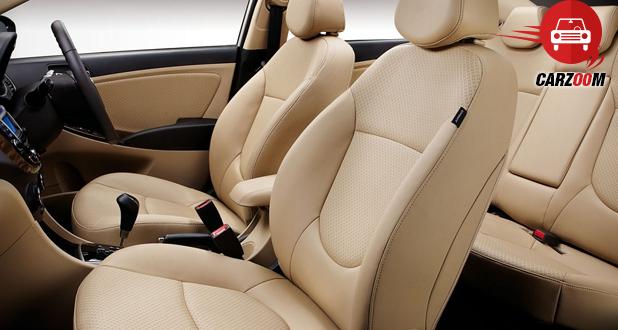 Hyundai Verna Interiors Seat View